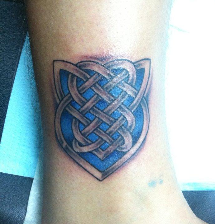 Celtic Shield Knot Tattoo