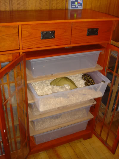 Has Anyone Converted Furniture To A Herp Enclosure