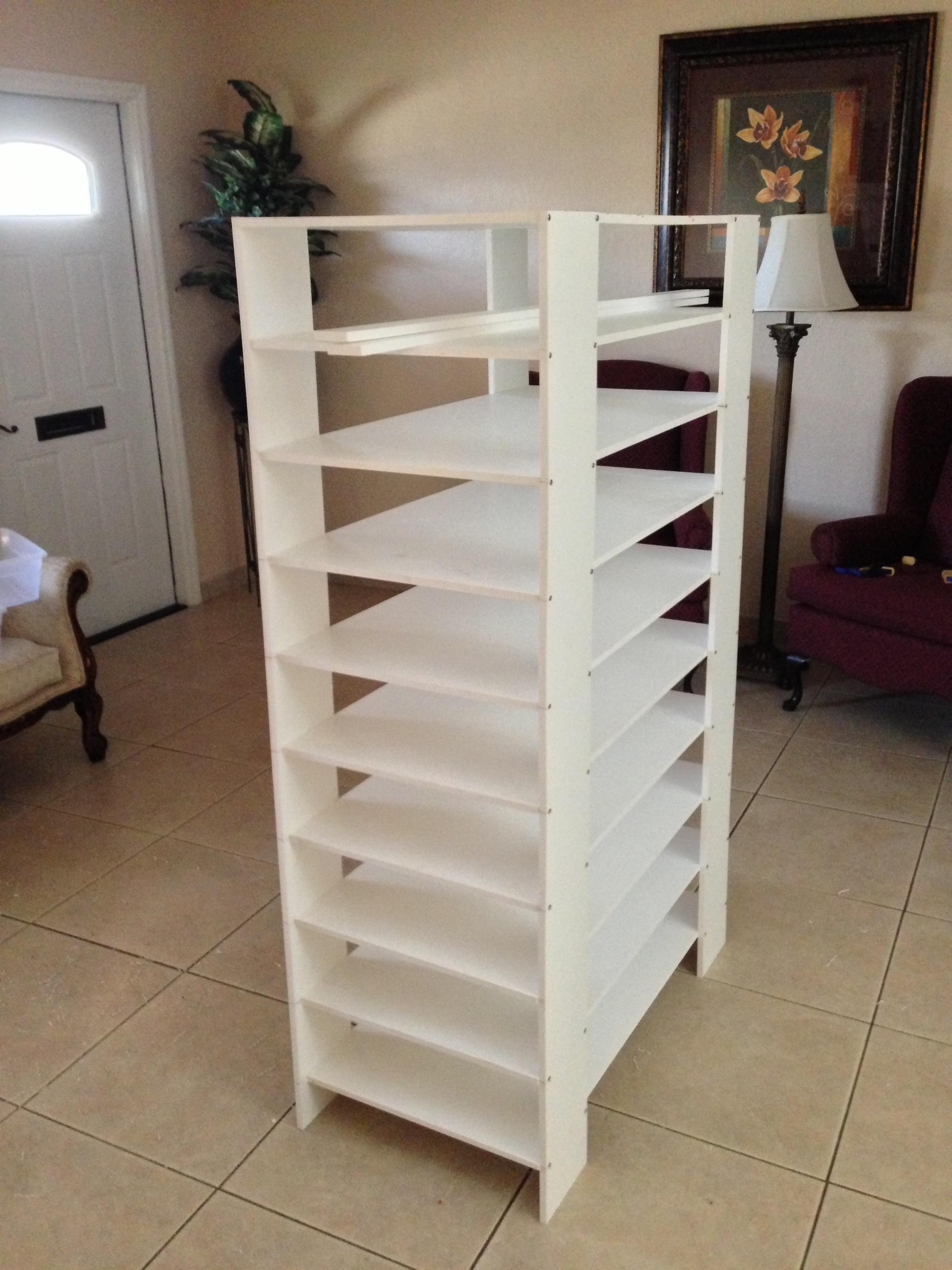 9 level rack