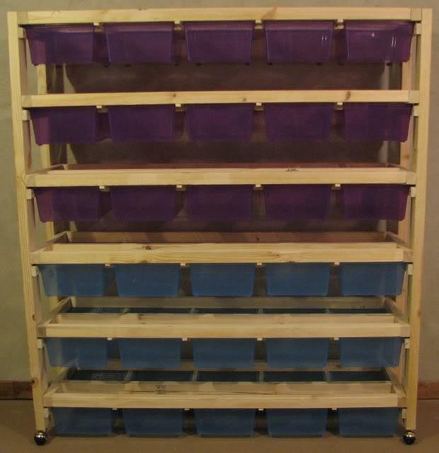 how to build a rat breeding rack