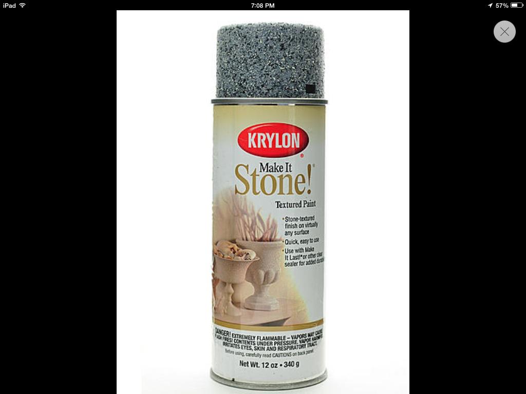 Krylon make it stone