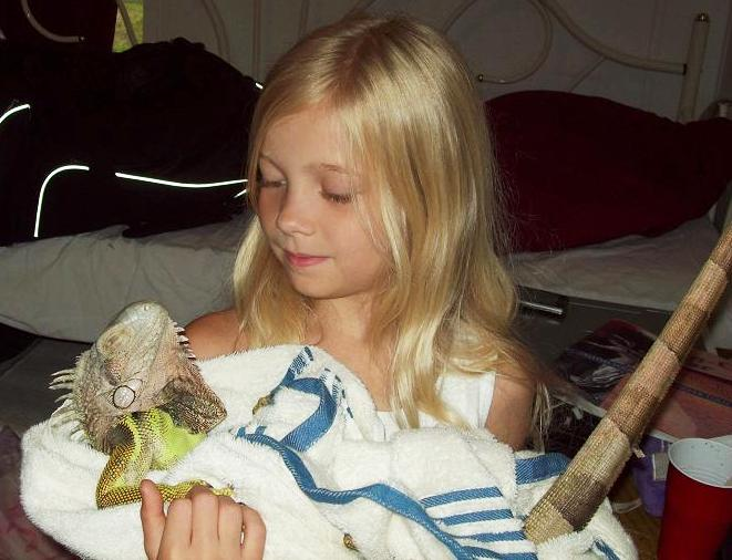 Mae: The Iguana Whisperer