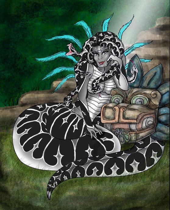 Urutu; Feathered Serpent