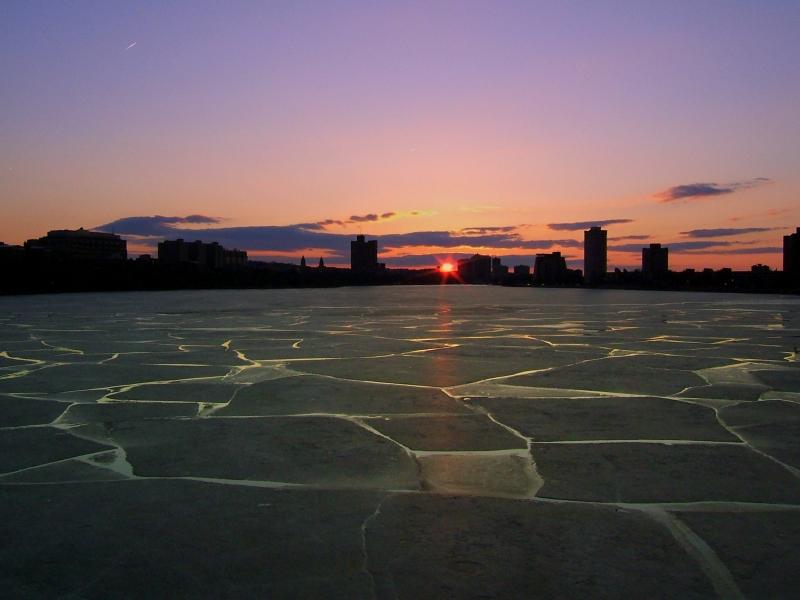""" The Last Winter Sunset """