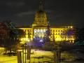 Edmonton Legislative Christmas Display
